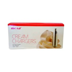 Mosa Cream Chargers 50x