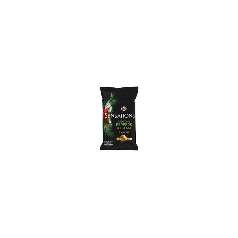Lays Sensations Mexican Peppers Cream
