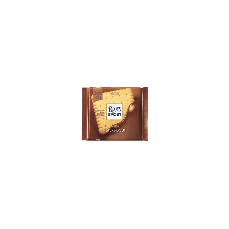 Ritter Sport Butter biscuit chocola