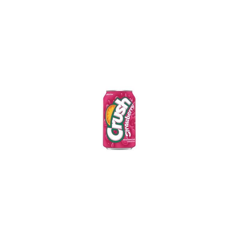 Crush Strawberry Soda 355ml