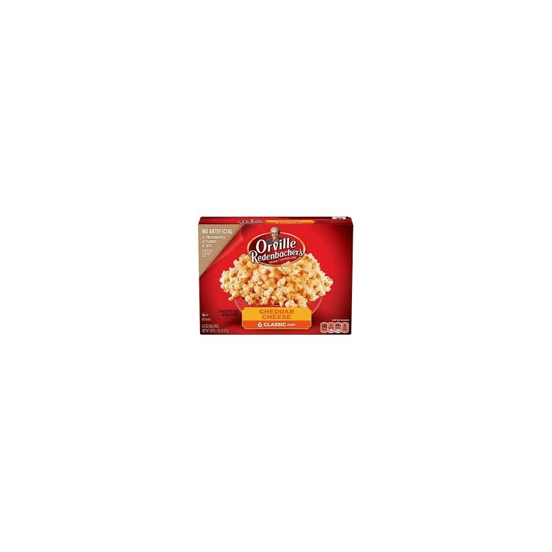 Orville Redenbacher's Popcorn Red Cheddar Cheese