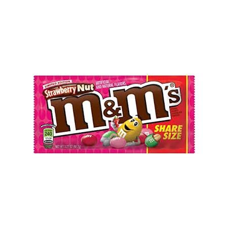 M&M Strawberry Nut Share Size
