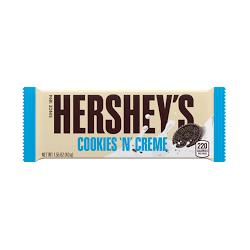 Hersheys Chocolate bar Cookies 'n' Creme